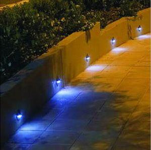 Merdiven Adımlar için 1W Su geçirmez Açık Işık LED Duvar Lambaları Koridorlar Half Moon Kapak Zamak 6 Işıklar + LED Sürücü + Kablolar Bütün Dahil