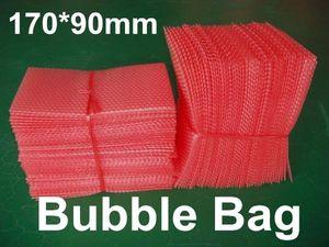 """NEUE Antistatische Luftblasen-Umschläge wickeln Beutel-Beutel ein, die PET-Versandtasche verpacken 6.7 """"x 3.5"""" 170 x 90mm niedriger Massenpreis geben Verschiffen frei"""