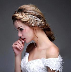 Takı Çiçek Kristal 2016 Moda Tarak Gelin Başlıklar Tiaras Saç Aksesuarları Sparkly Gelin Saç Combs Stokta Gemi Hazır CPA472