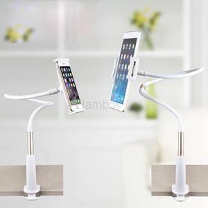 Clipe Gooseneck flexível On Desk Bed Kitchen Tablet Holder Telefone preguiçoso para iphone para ipad para Samsung Smartphones