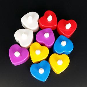 플래시 전자 LED 촛불 발광 장난감 플래시 촛불 낭만적 인 촛불 테이블 흰색 발광 인광 결혼