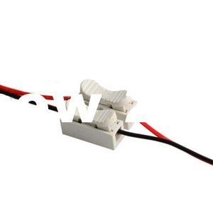 Offerta speciale all'ingrosso 2P Spring Connector LED Light Strip Wire Connessione senza saldatura Nessuna vite s Connettore rapido