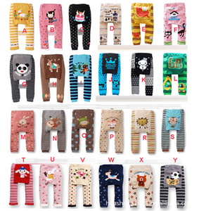 DHL 2016 new kids cute Toddler 36 designs Busha PP Pants Baby Warmer Leggings Tights Baby Trousers Toddler Pants C287