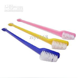 22 cm spazzolini da denti cane gatto igiene degli animali denti cura pet spazzolino colore invio casuale 100 pz / lotto forniture per animali domestici