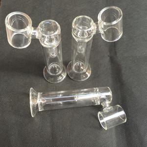 El tubo de vidrio de uñas de bong h e de reemplazo de nivel más nuevo para el vaporizador de cera de uñas H y E de Portable E y uñas eléctricas