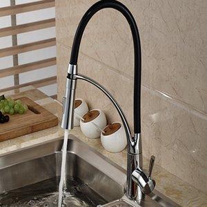Groß-und Einzelhandel brandneue moderne Schwenkauslauf Küchenarmatur Vanity Sink Mischbatterie Einhand-Loch Vanity Sink Mischbatterie