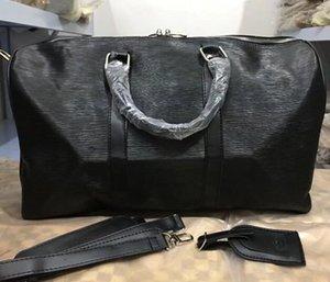 Borsa in cuoio in cuoio veloce con vera qualità Travel 45 cm Lady mask tote Borsa a tracolla Oxid BAG BAG CLASSIC BAG QIRKU