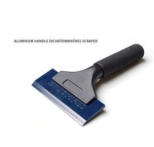 alta calidad importada Pro Power Squeegee maneta de aluminio dichotomanthes raspador con Blue Max Rubber blades MX-QH02B