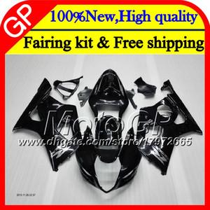 Bodys Для SUZUKI GSX-R1000 K3 GSXR-1000 GSXR 1000 03 04 Глянцевый черный Кузов 29GP7 GSXR1000 03 04 K3 GSX R1000 2003 2004 Обтекатель мотоцикла