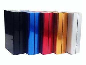 Varietà di speciale per la vendita di scatola di sigarette di plastica premuto vibrazione vibrazione a forma di scatola sottile di sacchetti creativi 20 sigarette, stile casuale