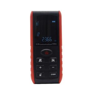 Freeshipping Digital 100m Portable Laser rangefinder Handheldlaser Distance Meter Range Finder Area Volume Measurement with Angle Indication