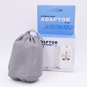 Eléctrico Plug Power Adapter Soquete Universal International Travel Tomada Charger Converter UE UK EUA AU Option USB