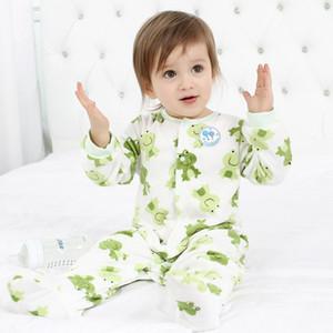 Hhtu Bébé Barboteuses Vêtements À Manches Longues Combinaisons pour les nouveau-nés Garçon Fille polaire bébé Vêtements Pour Automne / Hiver Enfants Vêtements