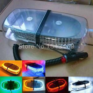 자동차 지붕 조명 240 LED 240 LED 자동차 트럭 지붕 깜박임 스트로브 비상 경고등 6 색