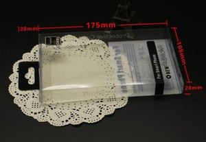 Caixa plástica transparente do pacote de varejo do PVC maior com suporte interno da bolha para o telefone Caixa de couro do telefone para o iphone 6 6S mais Samsung S6