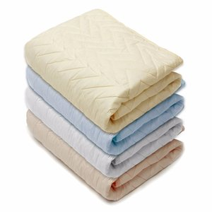 Wholesale-Quilted Mattress Protective Cover Rubber Stuffing Fillings Pad Thin Sanding Cotton For Four Seasons Ventilation Mattress Topper