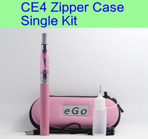CE4 eGo Starter Kit Sigaretta elettronica Zipper Case Kit singolo E-Sigaretta 650mah 900mah 1100mah DHL LIBERA il trasporto