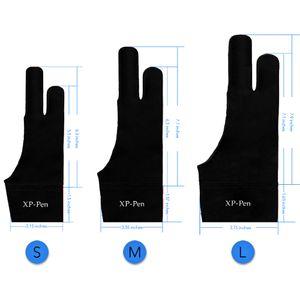 XP-Pen Professional Artist المضادة للقاذورات Lycra Glove لأي كمبيوتر لوحي رسومات (مقاسات S / M / L 3 ، مناسبة لليد اليمنى واليد اليسرى)