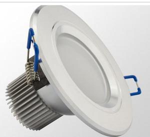 무료 배송 3w led 천장 조명, AC85-265v CEROHS, 따뜻한 / 시원한 흰색, 천장 조명 알루미늄 실내 조명 led