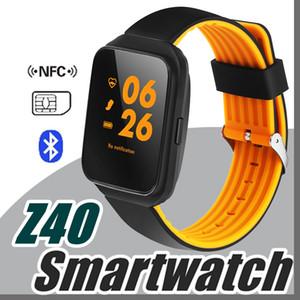 2017 Torntisc Z40 Bluetooth Smart İzle Tansiyon Aleti Nabız Smartwatch erkekler Çağrı İleti Hatırlatma Giyilebilir cihazlar X-BS izle