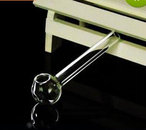 Fábrica directa de alta calidad de vidrio olla recta 6 CM, accesorios de cachimba de vidrio al por mayor, bongs de cristal, envío gratis, grande mejor