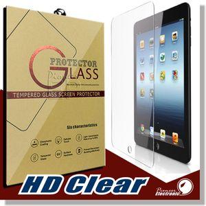 Para iPad Mini 2 3 4 Air Pro 9.7 pulgadas de pantalla protector de pantalla a prueba de shatter anti-scratch HD Clear iPad Mini 2/3 iPad Vidrio templado de aire