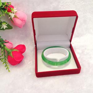Qualité bijoux en velours rouge Boîtes d'emballage cadeau et organisateur pour Bracelet Montre Bracelet Bijoux Vintage Case grandes quantités Logo personnalisé