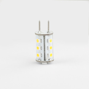 Dimmable 1W GY6.35 LED BULB Lighting 15led 3528 SMD 12VAC 12VDC 24VDC White Warm White Corn Bulb 10pcs lot