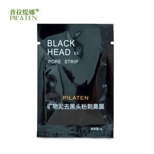 PILATEN Viso Minerali per il viso Conk Naso Maschera di rimozione di comedone Pulizia dei pori Pulizia profonda Testa nera EX Pore Strip