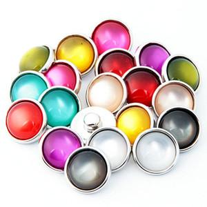 NOOSA Амстердам Vintage Opal Candy Color 12mm Noosa Взаимозаменяемая кнопочная кнопка DIY Аксессуары для ювелирных изделий Имбирь Snap Jewelry Clasps