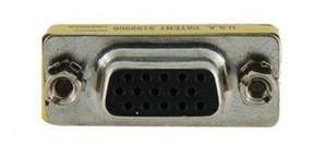 15pin Cinsiyet Değiştirici Adaptör Dişi VGA / SVGA Kablo Genişletici Konektörü