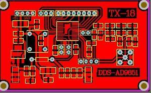 Ad9851 module DDS ad9851 schematic and pcb 9851 driver code AD9851-DDS Module MCU Driver Code