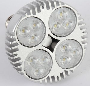 PAR38 40W 50W LED أضواء الاسمية 38 لمبة 20 E27 LED مع مروحة للمجوهرات الملابس شوب معرض أدى مسار السكك الحديدية الخفيفة إضاءة متحف