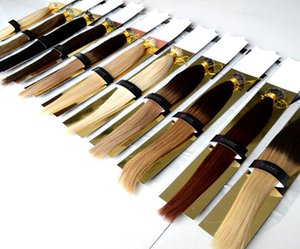 """XCSUNNY Estensioni dei capelli brasiliani di Remy Nano perline 18 """"20"""" Nano Rings Estensione dei capelli umani 100g Nano Ring Loop Extensions 100beads"""