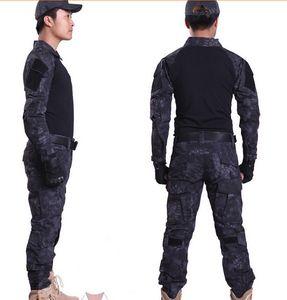 MANDRAKE Rattlesnake Gen 3 Tactical Battle Tight Suit Abiti mimetici uniformi Frog Combat Airsoft abbigliamento T-Shirt Pantaloni