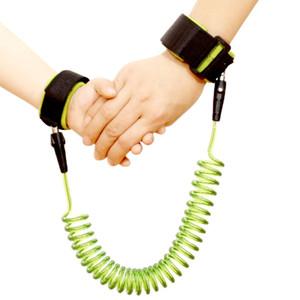 Enfant en bas âge bébé enfants joint en plastique 360 rotation anti perte sangle harnais de sécurité enfant laisse anti poignet perdu lien lien corde de traction bracelet