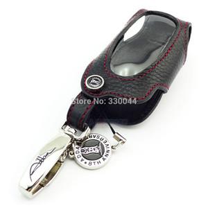 Echtes Leder Autoschlüssel Fall für Toyota Camry Corolla RAV4 Highlander Krone Lander Cruiser Prado Venza ZELAS Autozubehör