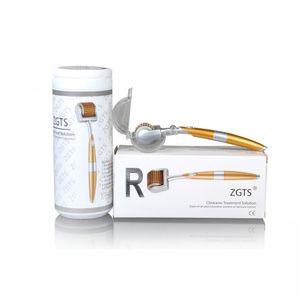 ZGTS 192 dermaroller salon use titanium derma roller ZGTS 192 needles meso roller for beauty