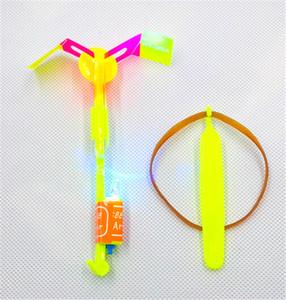 LED Arrow Elicottero LED Amazing Arrow Flying Elicottero Ombrello Giocattoli per bambini Spazio UFO LED Giocattoli di luce Natale Halloween Flash Toys