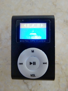 Clip MP3 Players With TF Card Slot Electronic Products sports Metal mini Mustic Player With LCD Screen 2-MP
