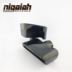 Top Quality 304 In Acciaio Inox / Nero Cromatura Auto Tubo Di Scarico Tip Silenziatore Per BMW F18 F10 5-Series 2013 2014 Accessori