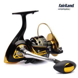 غزل الصيد بكرة BANDO KN2 10000 لعبة كبيرة بكرة 10 + 1BB السحب الأمامي معدات الصيد البحري اليسار / اليد اليمنى للتبادل