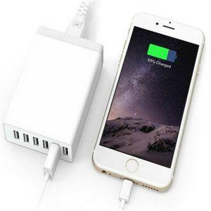 6 port USB Şarj Hızlı Şarj 50 watt 5 v 10a masaüstü Şarj Çok Liman USB Şarj Taşınabilir Pil Şarj