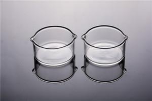 Heady Cinzeiro Dabber Prato para Straw pequeno de vidro Cinzeiro Dish baratos Dab fumar Accessoires Ferramentas frete grátis