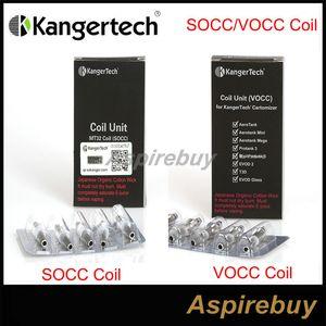 Upgradeda 100% originale Kanger SOCC / VOCC Coil OCC (Organic Cotton Coil) per Subtank EVOD Mega, Aerotank, Aerotank Mini, Aerotank Mega