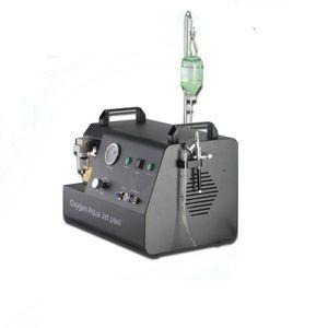 Oxigênio do jato de alta pressão Oxygen injetar a máquina da máquina da terapia da terapia da terapia do jato de água que descasca o rejuvenescimento da pele Rejuvenescimento da pele Máquina facial do oxigênio