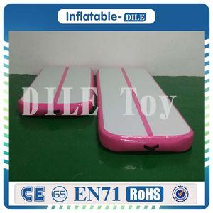 Frete Grátis Porta a Porta 5X1x0.2m Inflável Air Track Tumbling, inflável Ginásio Air Track, Tapete de Ar inflável para Ginástica Com Uma Bomba