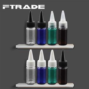 Commercio all'ingrosso- 50 pezzi, PET 10 ml bottiglia di plastica di alta qualità bocca tagliente, bottiglia di plastica pulita pulita divisa, bottiglia di essenza crema per gli occhi imballaggio