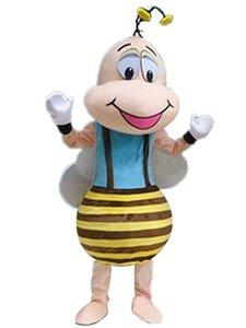 2018 New Bee Prince Prinzessin Maskottchen Kostüm Party Kleid Anzug Kostenloser Versand