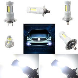 80W Fog Light Cob White H7 High Power car LED Bulb DRL Auto Lamp 8-30V Bright